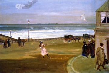 Windy Day at Brighton Artwork by Charles Conder