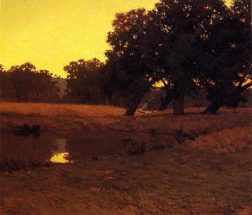 Evening Glow Artwork by Granville Redmond