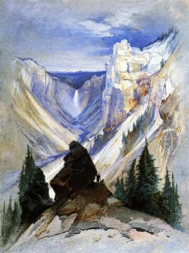 The Grand Canyon of the Yellowstone Artwork by Thomas Moran