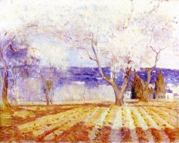 Fruit Trees in Blossom, Algiers Artwork by Charles Conder