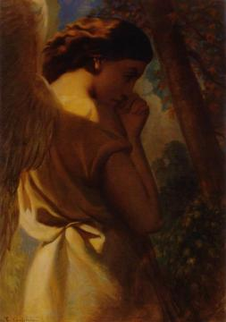 The Angel Artwork by Theodore Chasseriau