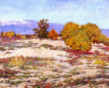 Desert Verbena, Palm Springs Artwork by Alson Skinner Clark