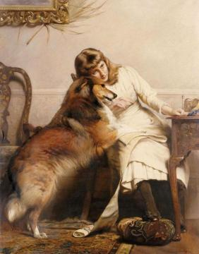 Sweethearts Artwork by Charles Burton Barber