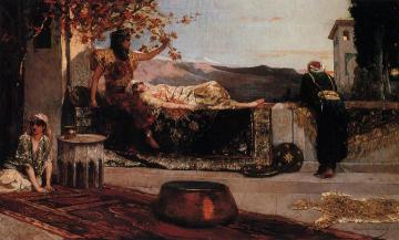 On the Terrace Artwork by Benjamin Constant
