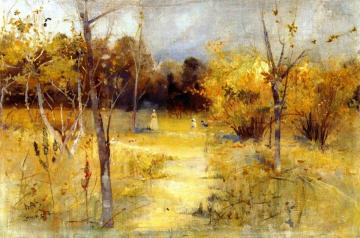 Orchard at Box Hill Artwork by Charles Conder