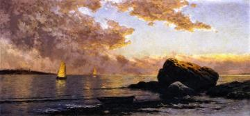 Shore At Manomet, Massachusetts Artwork by Alfred Thompson Bricher