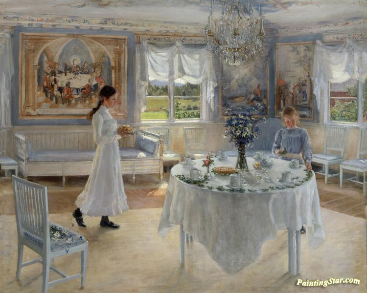A Day Of Celebration Artwork by Fanny Brate