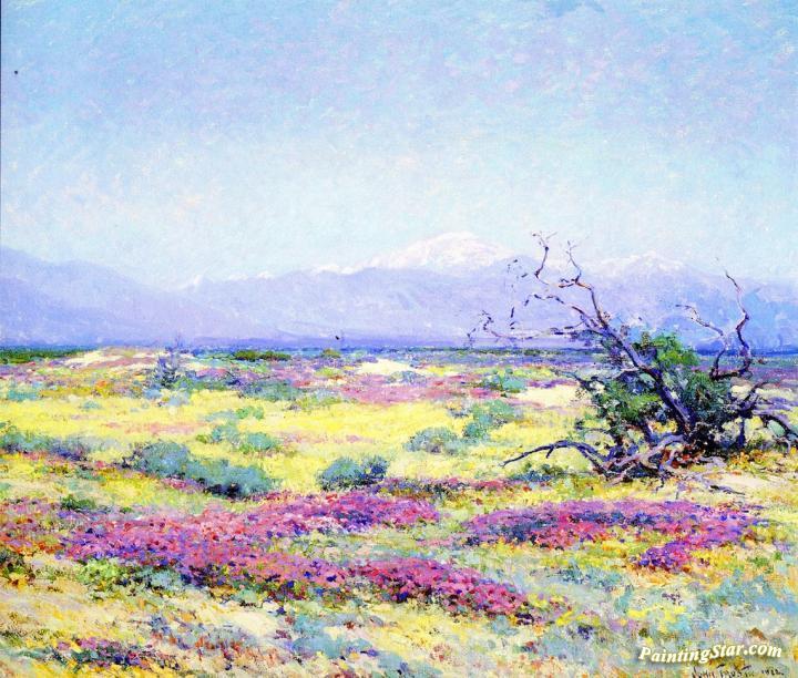 4ce17634a11 The Flowering Desert Artwork By John Frost Oil Painting   Art Prints ...