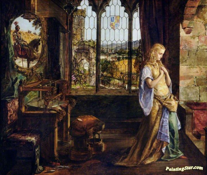 tennysons the lady of shalott essay