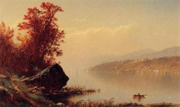 Up the Hudson Artwork by Alfred Thompson Bricher