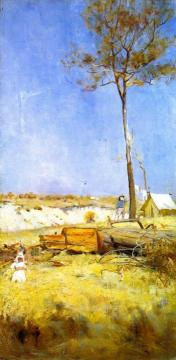 Under a Southern Sun Artwork by Charles Conder