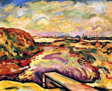 The Bay Of Antwerp Artwork by Georges Braque