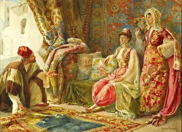 Lovely ... The Rug Merchant Artwork By Amedeo Simonetti ...