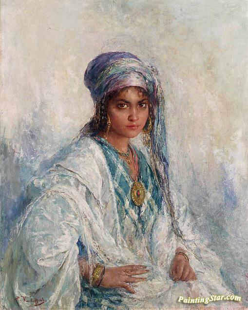 Arabian Beauty (beauté Arabe) Artwork By Edouard Verschaffelt Oil ... d4d1c13c9d5