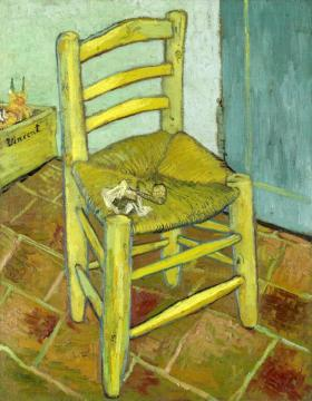 Van Gogh's Chair Artwork by Vincent van Gogh