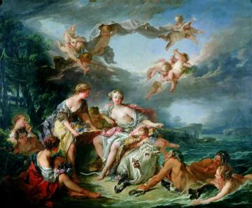 The Rape of Europa Artwork by Francois Boucher