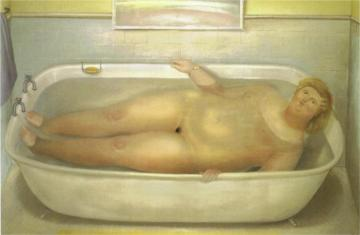 Homage To Bonnard Artwork by Fernando Botero