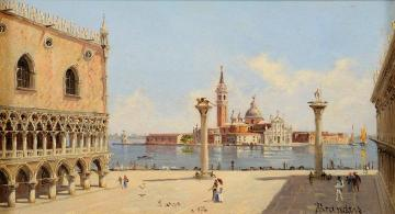 The Doge's Palace, Venice Artwork by Antonietta Brandeis