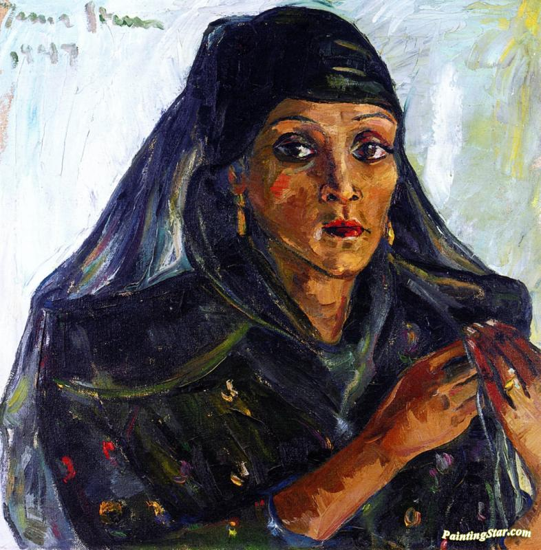 Irma Stern Prints Fatuma Artwork by Irma Stern