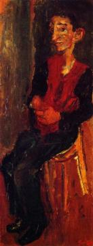 Alfred, Bellhop At Auxerre Artwork by Chaim Soutine