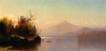 View Of Mount Chocorua, New Hampshire Artwork by Alfred Thompson Bricher