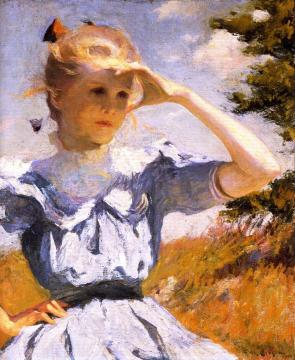 Eleanor Artwork by Frank W. Benson