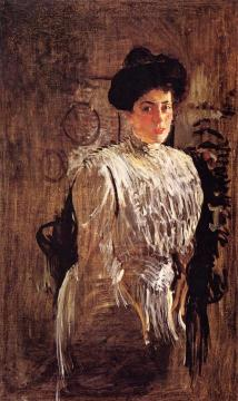 Portrait of Margarita Morozova Artwork by Valentin Serov