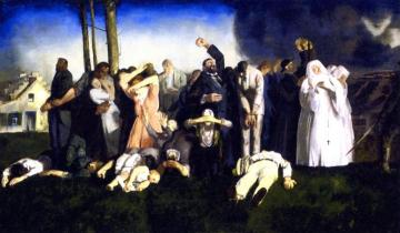 Massacre at Dinant Artwork by George Wesley Bellows