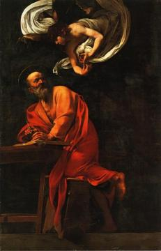 St. Matthew and the Angel Artwork by Caravaggio