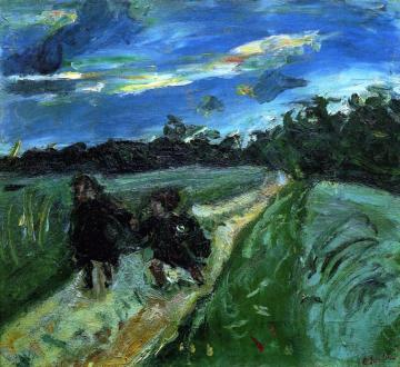 Return From School After The Storm Artwork by Chaim Soutine
