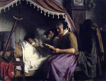 Old People Artwork by Carl Heinrich Bloch