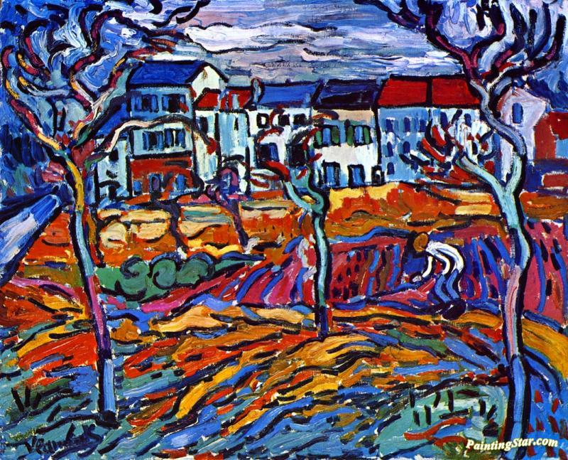 maurice de vlaminck houses at chatou