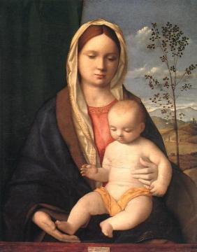 Madonna and Child Artwork by Giovanni Bellini