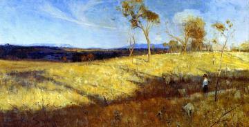 Golden Summer, Eaglemont Artwork by Sir Arthur Streeton
