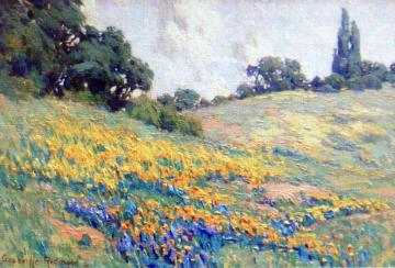 A Vibrant Spring Artwork by Granville Redmond