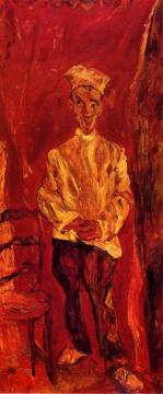 Little Pastry Cook Artwork by Chaim Soutine