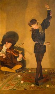 Egg Dance Artwork by John Maler Collier