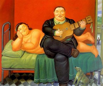 A Concert Artwork by Fernando Botero