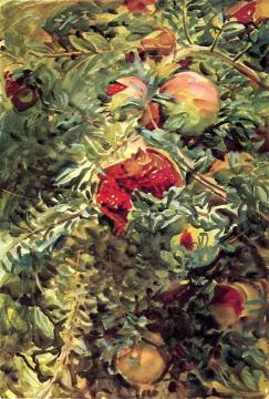 Pomegranates Artwork by John Singer Sargent