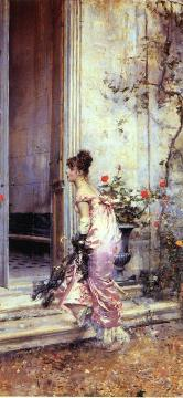 The Visit Artwork by Giovanni Boldini