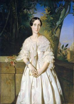 Countess de La Tour-Maubourg Artwork by Theodore Chasseriau