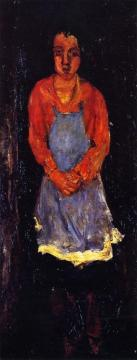 Cook With Blue Apron Artwork by Chaim Soutine