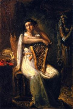 Desdemona Artwork by Theodore Chasseriau