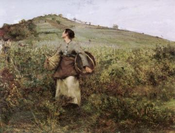 Harvest Time Artwork by Jules Bastien-Lepage