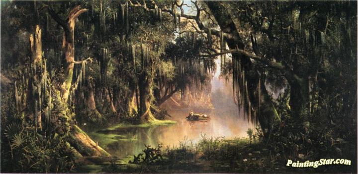 Bayou Teche Artwork By Meyer Straus Oil Painting Amp Art