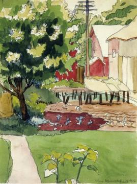 Midmorning Artwork by Charles Burchfield