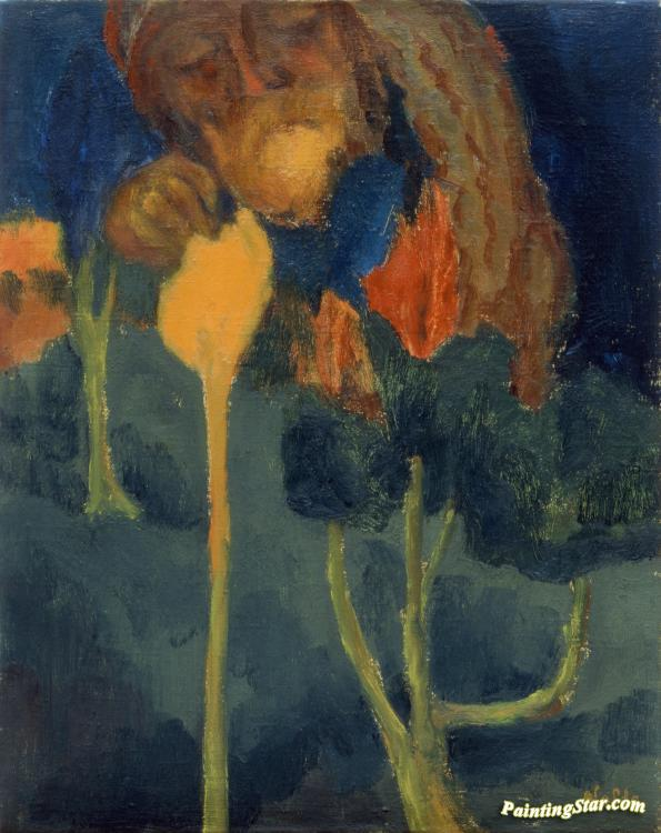 the great gardener artwork by emil nolde