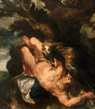 Prometheus Bound Artwork by Peter Paul Rubens