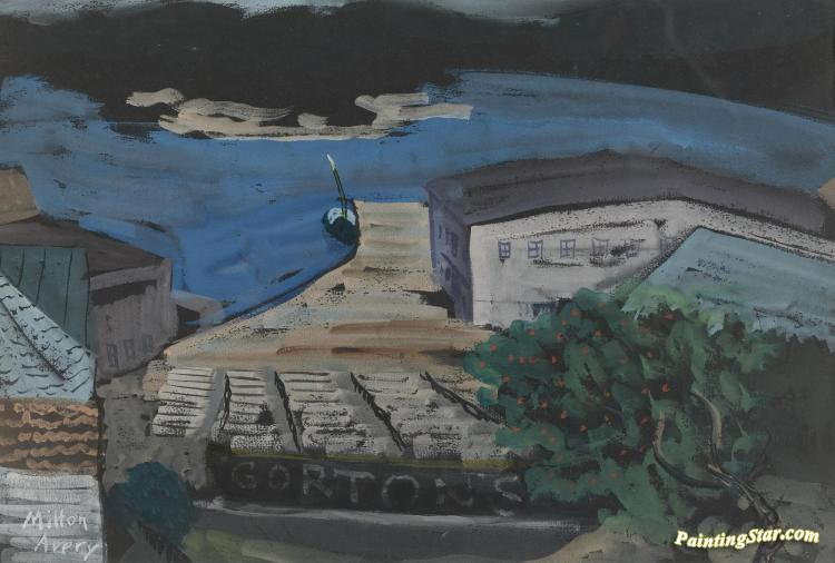 Gorton's Fishery Artwork by Milton Avery