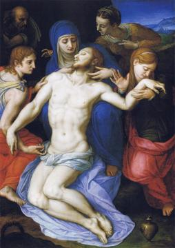 Lamentation over the dead Christ Artwork by Agnolo Bronzino